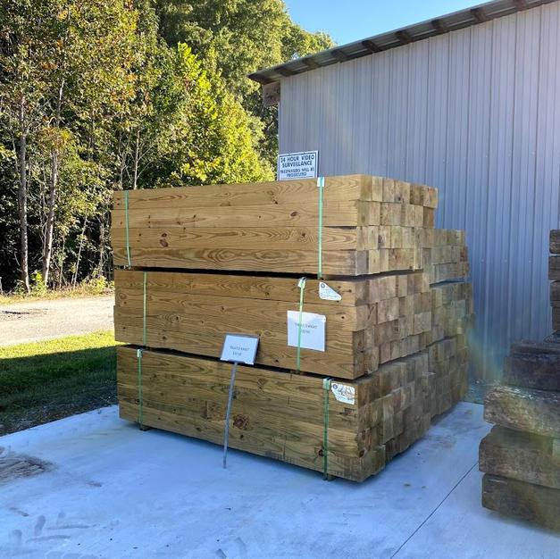 6x6x7 Treated Timbers