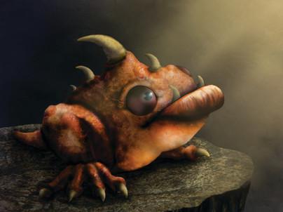 """""""Dragon Frog"""""""