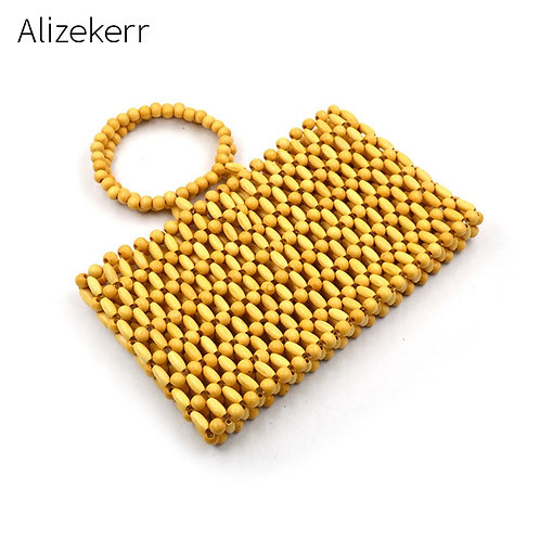Wooden Beads  Bag