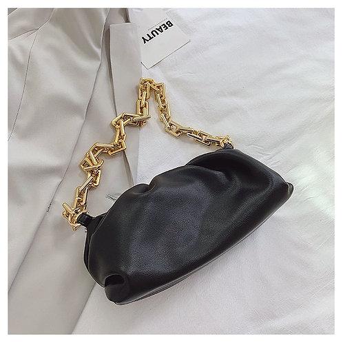 Gold chains dumpling  purse
