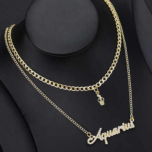 Horoscope Signs Necklaces