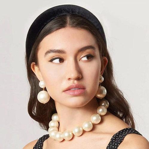 Flatfoosie Trendy Simulation Pearl Drop Earrings For Women Wedding