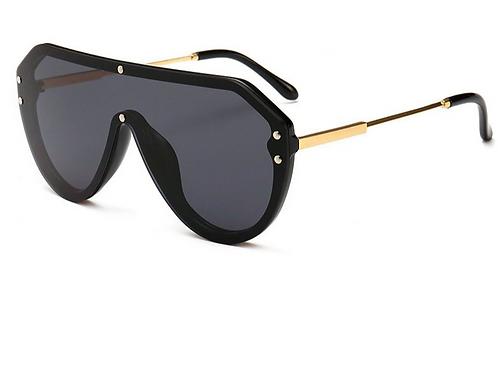 Oversized Shield Visor Sunglasses