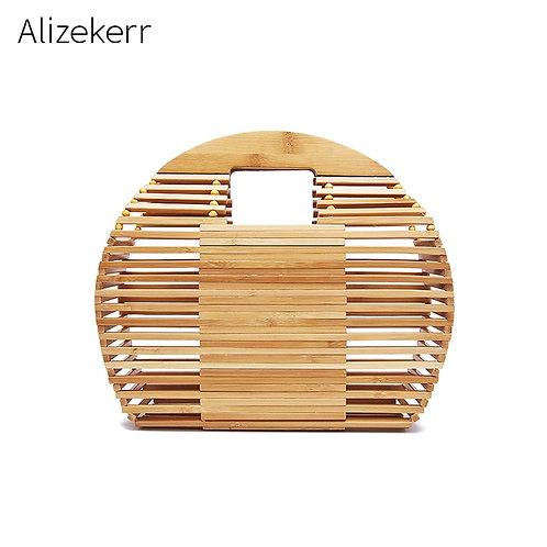 Bamboo Handbag Clutch