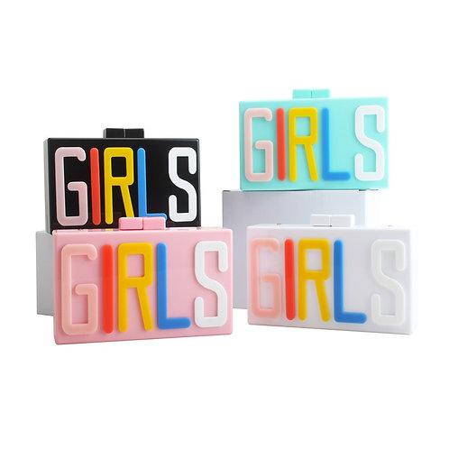 GIRLS Acrylic Clutch