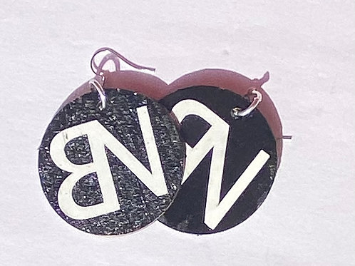 BN Wooden Earrings