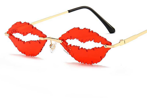 Lips Sunglasses Women