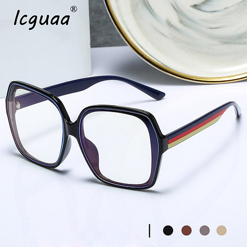Square Spectacle Frame Women