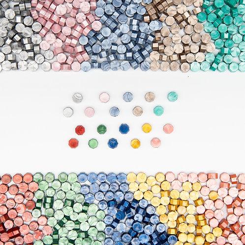 100pcs Sealing Wax Seal beans Stamp Beads for vintage craft Envelope
