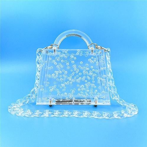 Transparent Bubble Acrylic  Bag