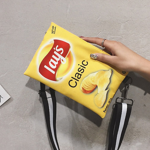 Potato Chips Crossbody Handbag