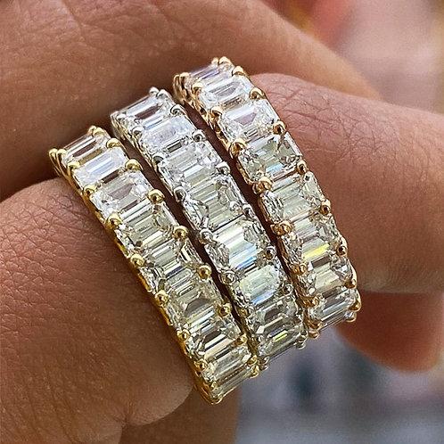 Cubic Zirconia Promise Love Rings