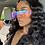 Thumbnail: Rimless Square Sunglasses Women Oversized Luxury Brand Mirror Pink