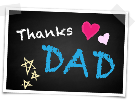 """For One Day, Just Say """"Thank You,Dads"""""""