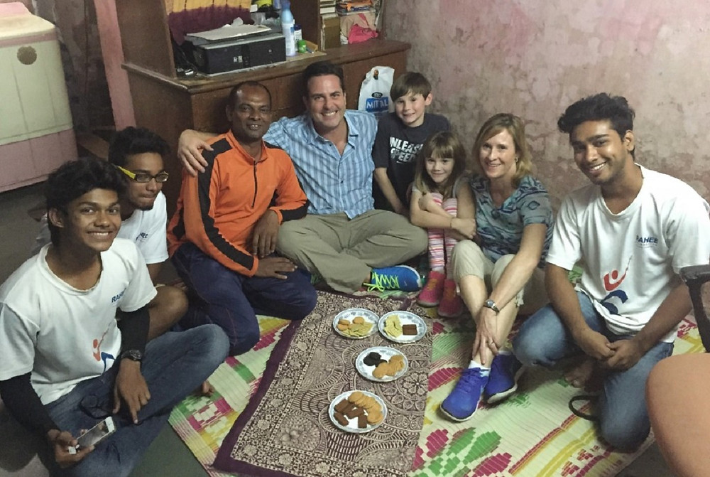 Meeting with Founder of Rahee Foundation in Mumbai
