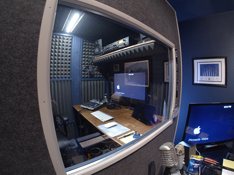 Window to Vocal Booth
