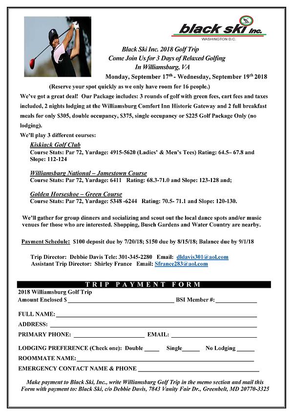 2018 Williamsburg VA Golf Trip Flyer _2_