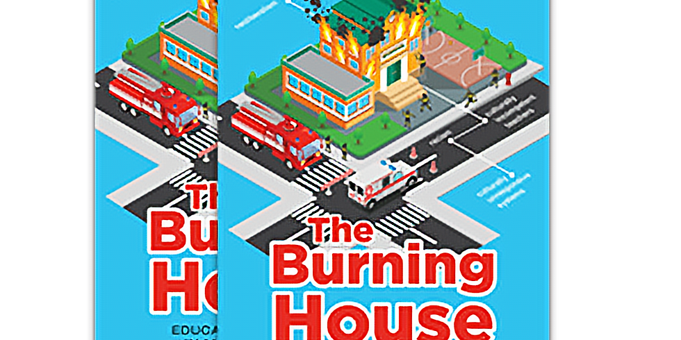The Burning House Book Talk with the Coalition of Juvenile Justice