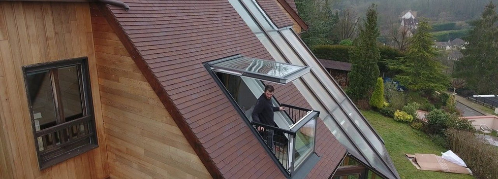 Velux avec balcon