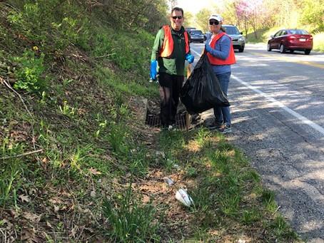 Road Clean Up a Success