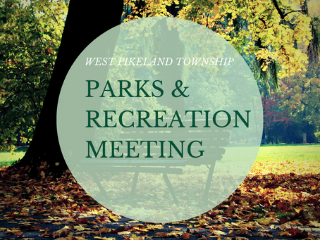Park and Recreation Meeting