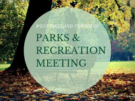 Park and Recreation Meeting - November 4, 2021