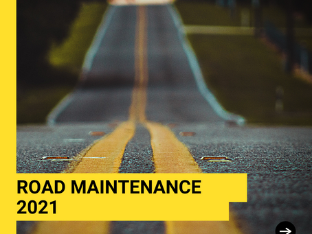 Township Road Work August 9-20, 2021 (Tentative)