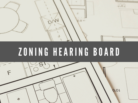Zoning Hearing Board Information