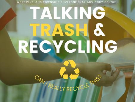 Talking Trash and Recycling - May 27, 2021