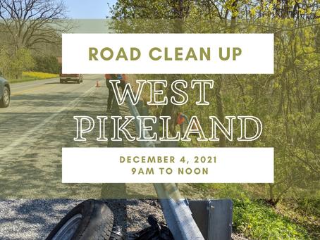 Road Clean Up - December 4, 2021