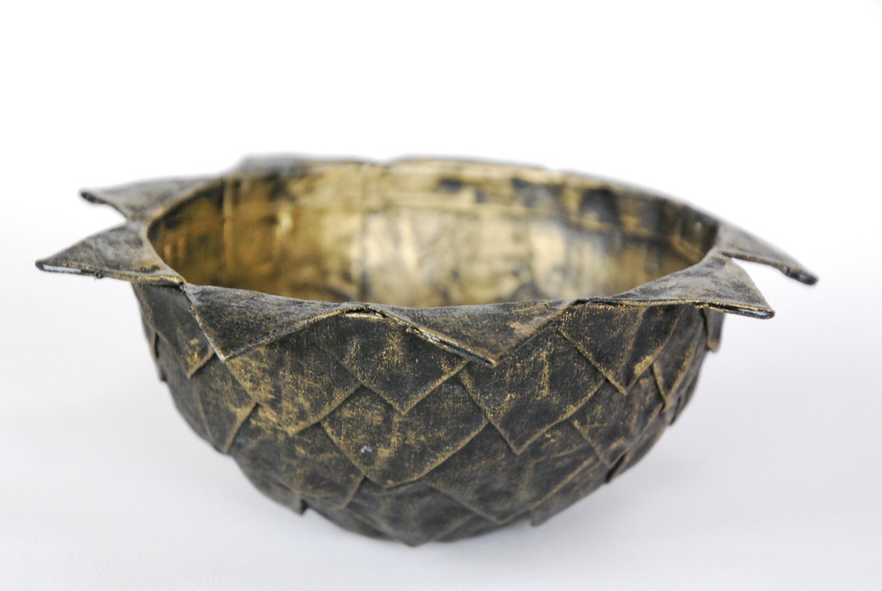 Bowl - Gold