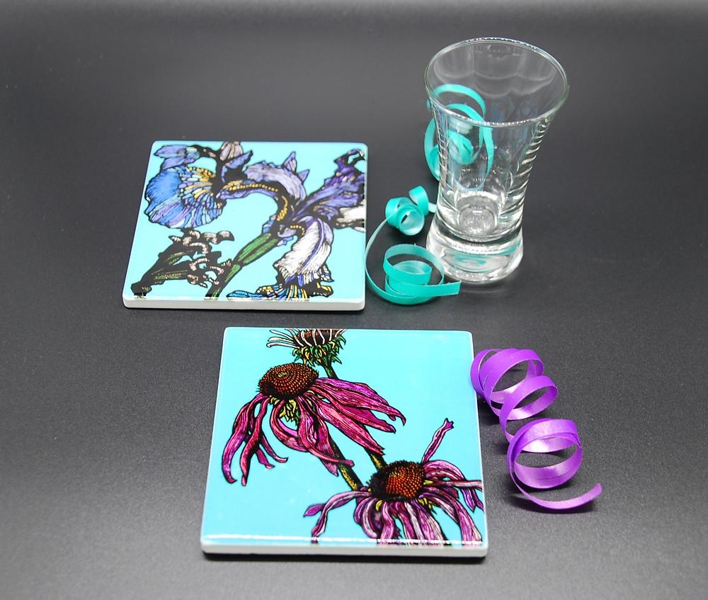 New Ceramic Coasters