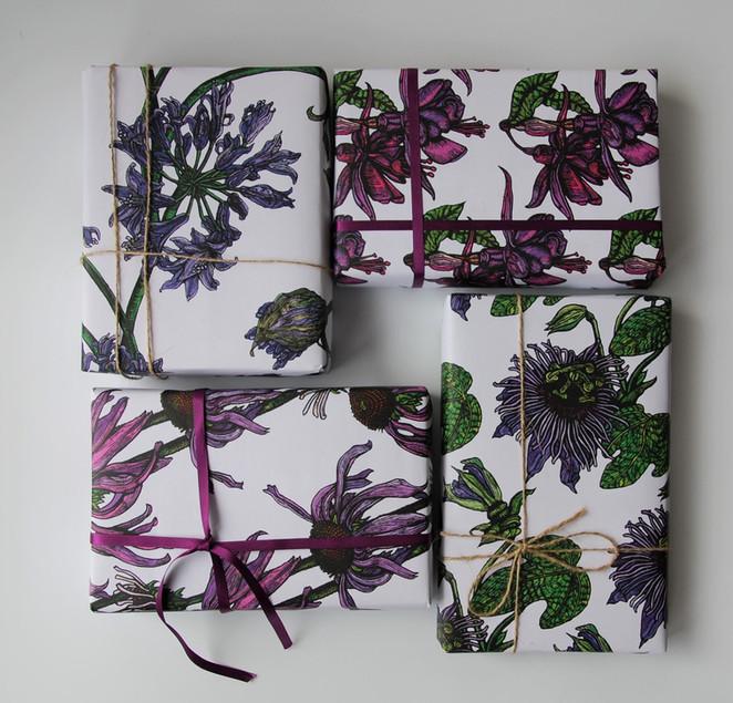 Gift Wrap selection