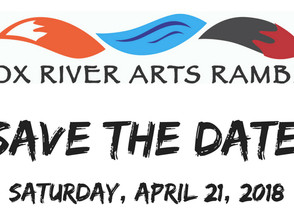 Save The Date for the 1st Fox River Ramble