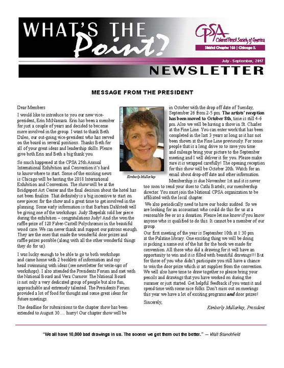 What's the Point Newsletter