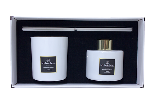 Love is Love Collection Aromatherapy Candle & Diffuser Set