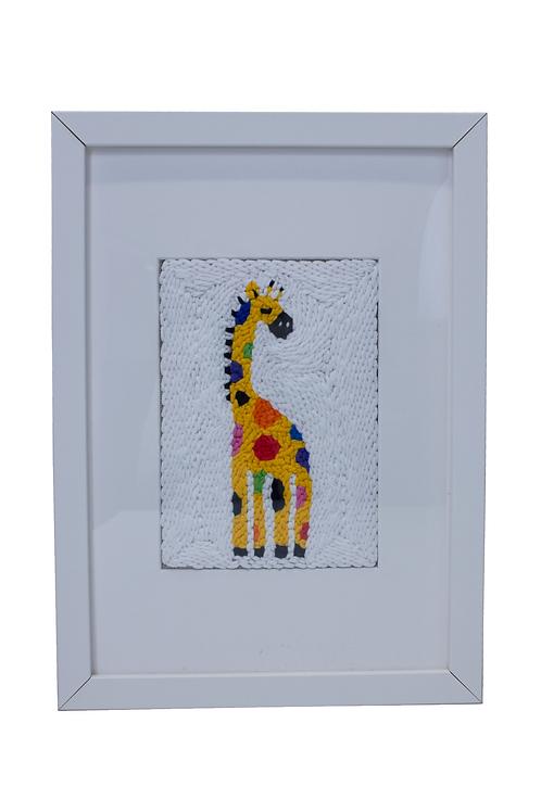 R3times x Mi-bambino London Limited Edition  Artwork - Jelly Giraffe