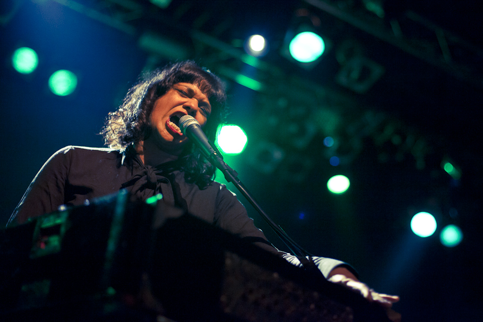 Shilpa Ray & her band