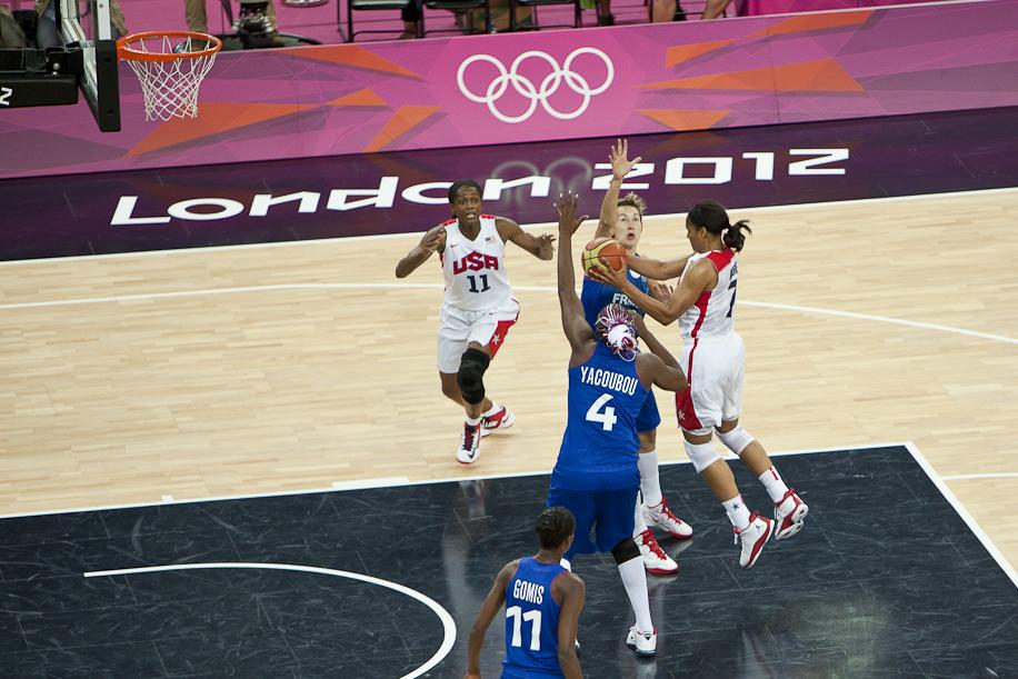 basketbal - olympiáda Londýn 2012