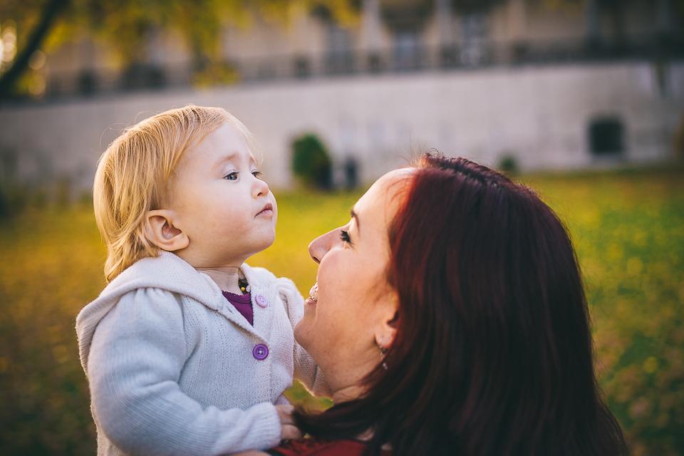 Veronika a Ondřej s dcerou