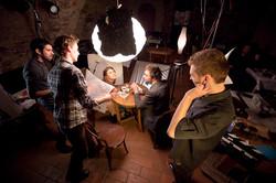 backstage focení - film
