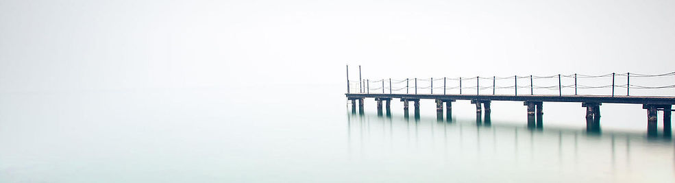 Image of tranquil water and jetty