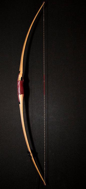 "Highlander Premium Longbow 45 lbs @ 28"", Length 64"""