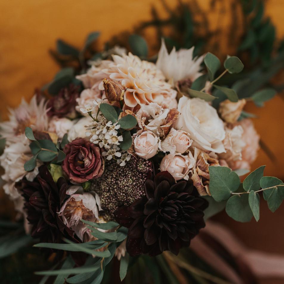 fleur de t handtied bridal bouquet