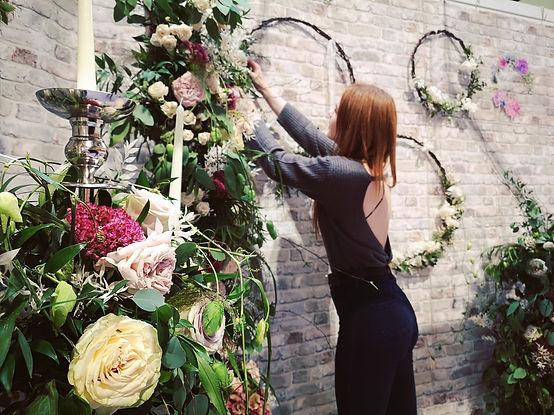 Fleur de T. at the National Wedding Show