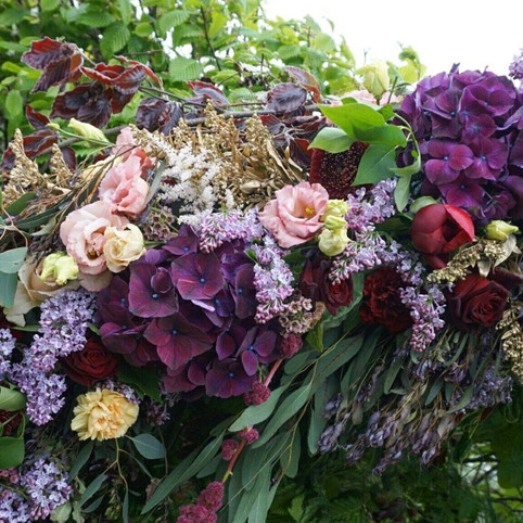 flower moongate