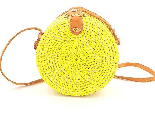 Petit sac en rotin tressé – 15cm | Femme