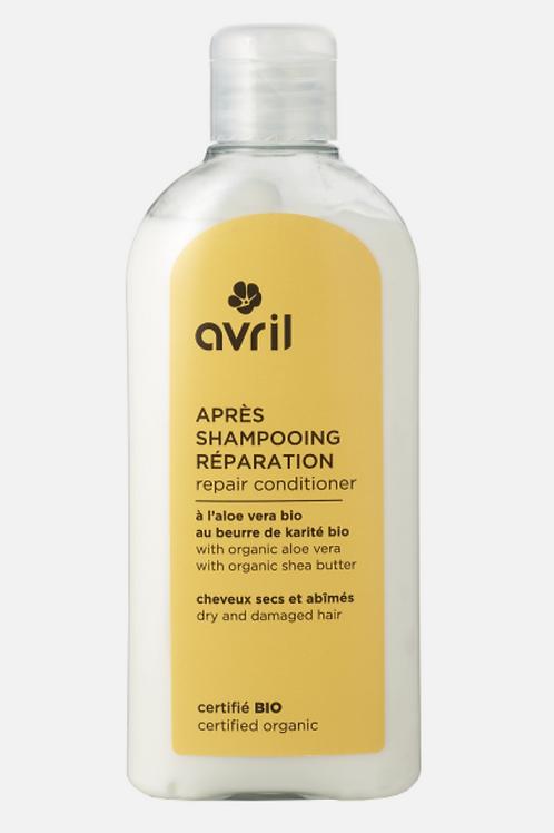AVRIL : Après-shampooing réparation 200ml - certifié bio