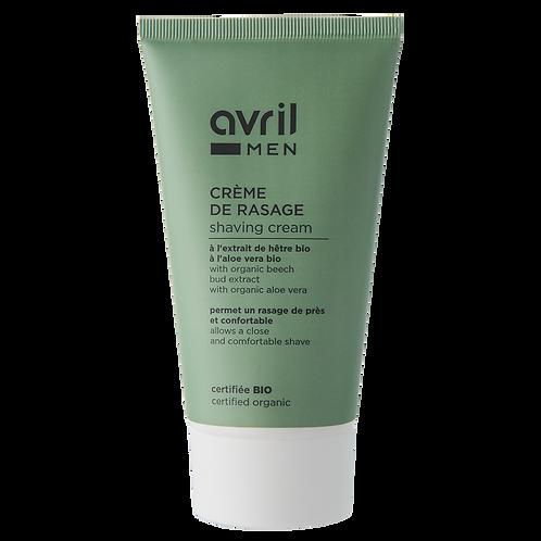 Crème de rasage 150ml - certifiée bio
