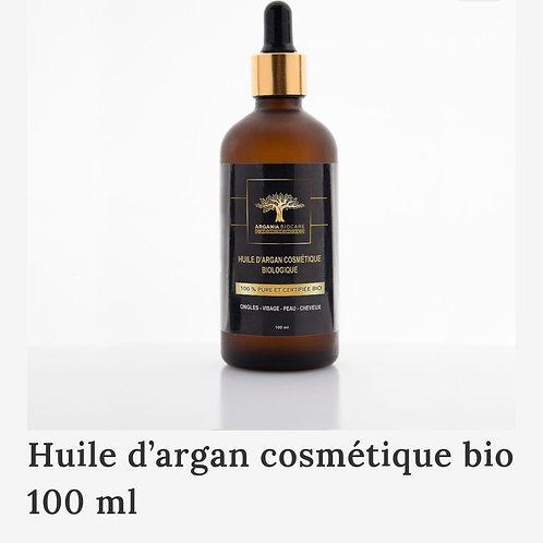 ARGANIA BIO CARE: Huile d'Argan cosmétique bio 100ml